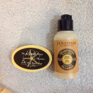 L'Occitane Butter Shea Shampoo & Kawili Soap 2.5oz